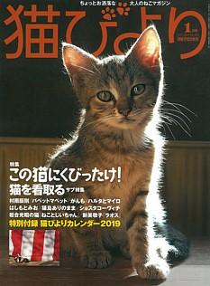 猫びより 1月号 JAN. 2019 No.103
